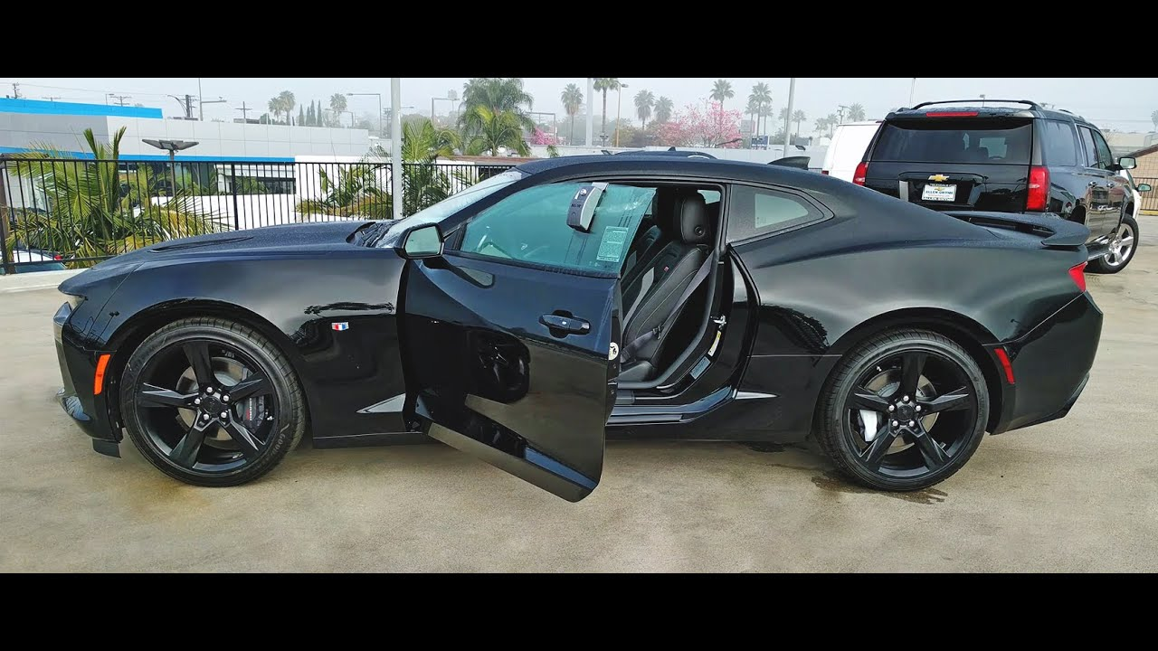 Image result for blacked out camaro