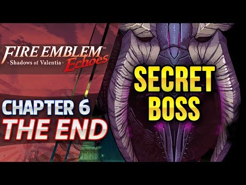 Fire Emblem Echoes: Shadows of Valentia - Act 6: THE END - Postgame Secret Boss (Hard/Classic)