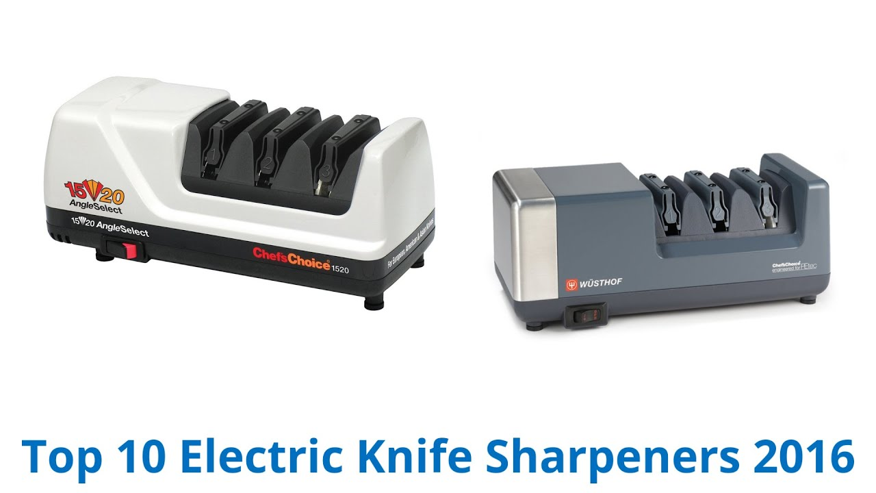 10 best electric knife sharpeners 2016 youtube