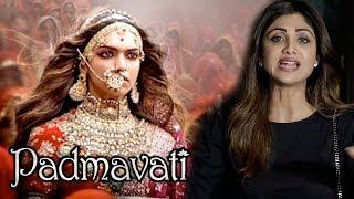 ANGRY Shilpa Shetty's REACTION On Deepika's Padmavati Controversy