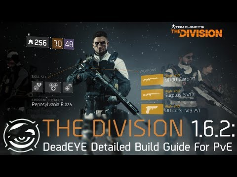 The Division | Detailed DeadEYE Build Guide for PvE