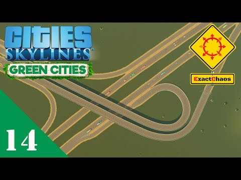 Cities Skylines Green Cities Let's Play 14 - The Railway Line