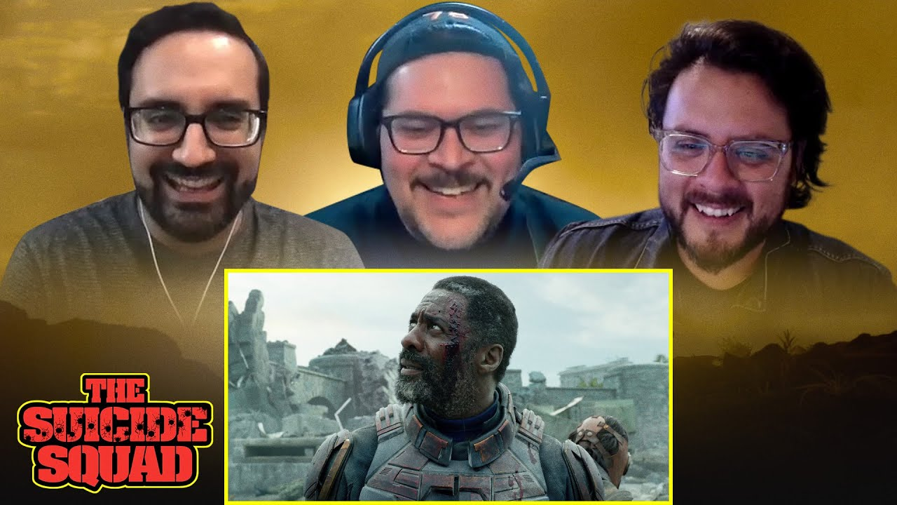 The Suicide Squad | DC Fandome First Look | Reaction