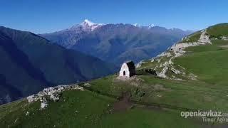 Храм мят - сели столовая гора, Ингушетия