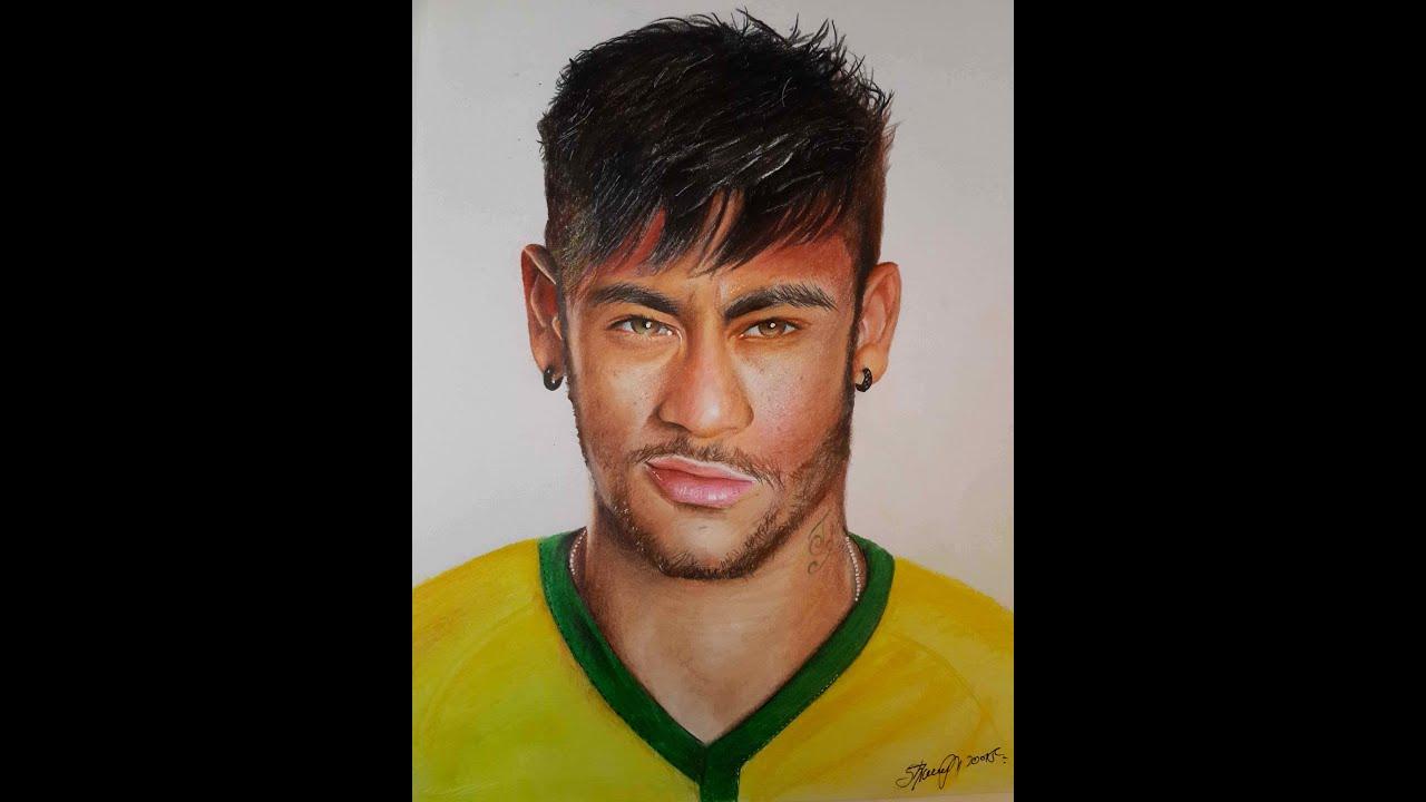 Neymar Drawing Youtube