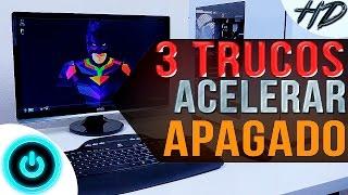 Cómo acelerar el apagado de la PC SIN PROGRAMAS | NUEVOS MÉTODOS | Windows XP, 7, Vista, 8, 8.1 y 10