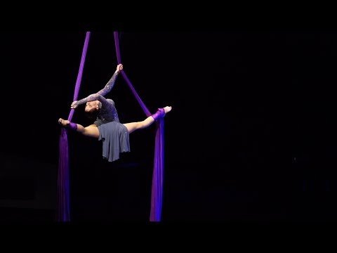 Jennifer Wilkins - Aerial Silks - Halo