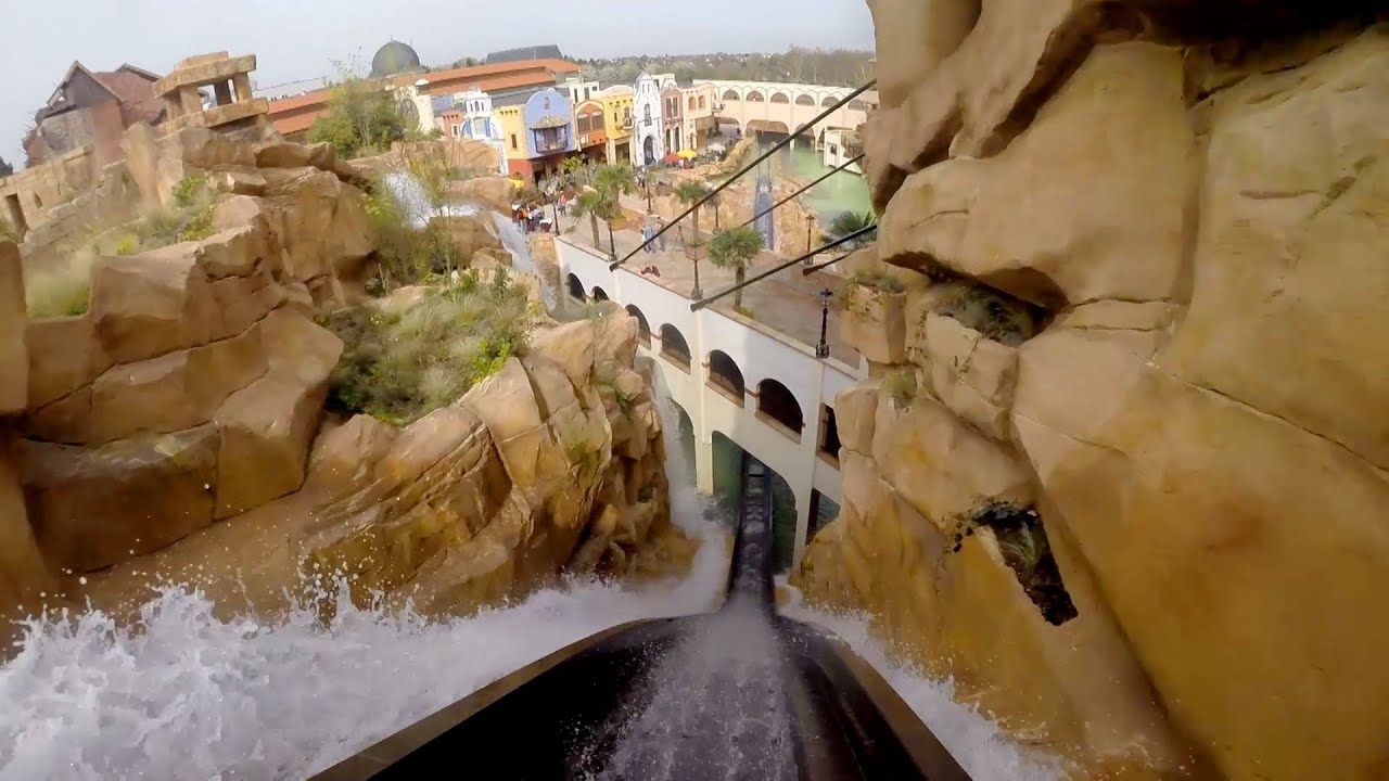 Make A Water Feature Chiapas Pov Awesome Themed Log Flume Water Roller Coaster