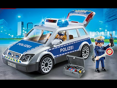 playmobil polizei police youtube. Black Bedroom Furniture Sets. Home Design Ideas