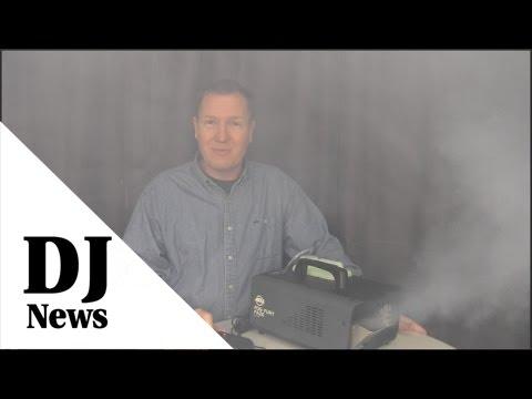 The Room Filling ADJ Fog Fury Faze: By John Young of the #DiscJockeyNews