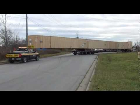 Blade Mold Hauled by Equipment Express (Shaver St - Ewart Ave)