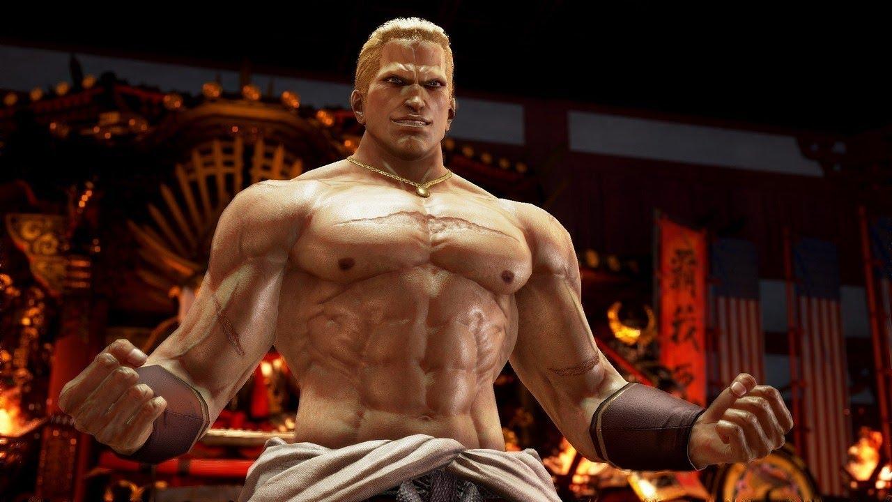 Tekken 7 Geese Howard Gameplay With Katsuhiro Harada And Michael Murray Youtube