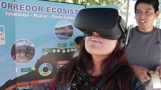 2da Feria ambiental de la Facultad de Ciencias del Ambiente de la Unasam