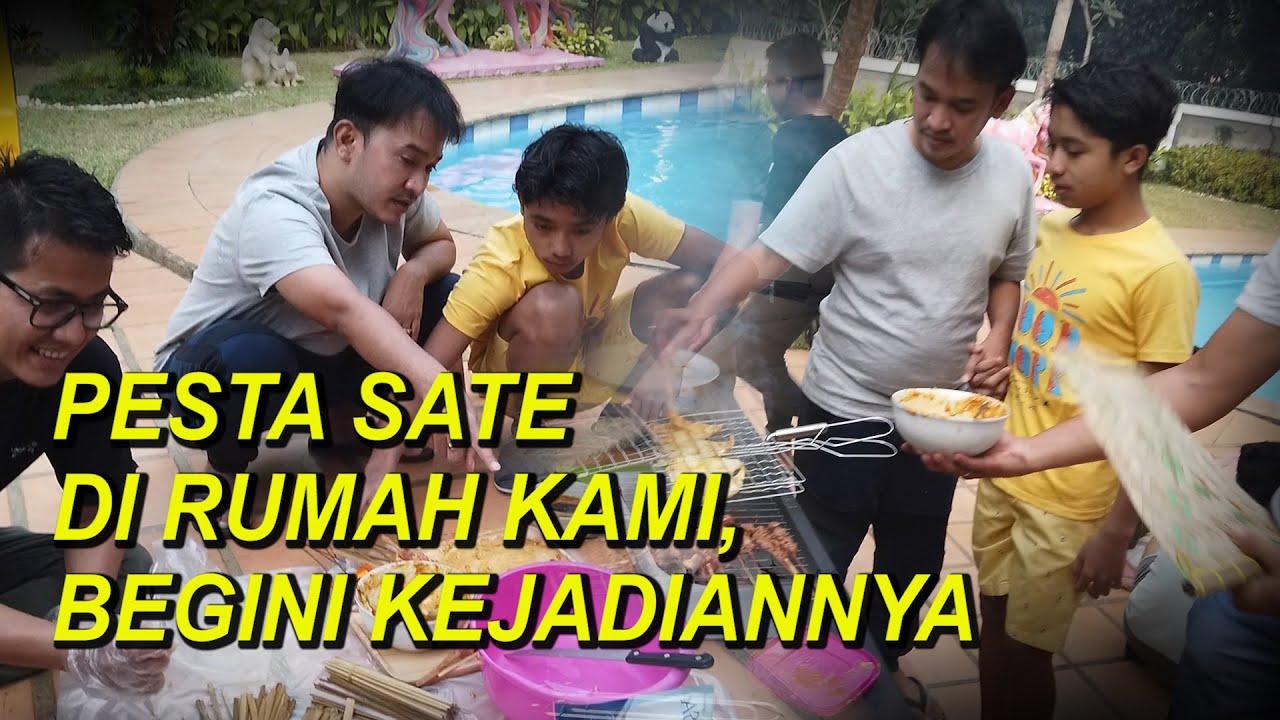 The Onsu Family - Pesta Sate di rumah kami, BEGINI KEJADIANNYA
