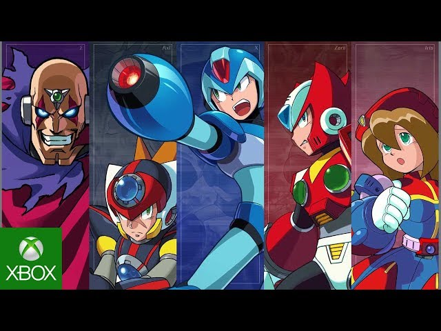 Mega Man X Legacy Collection 1 + 2 – Announcement Trailer