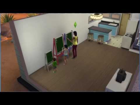 Functional chalkboards  Sims 4  - YouTube