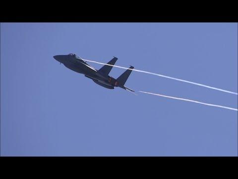2016 エアフェスタ浜松 F-15J機動飛行