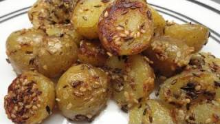 Crunchy Sesame Potatoes