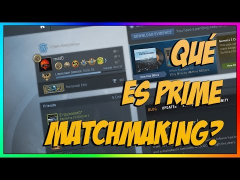 upgrade to prime matchmaking