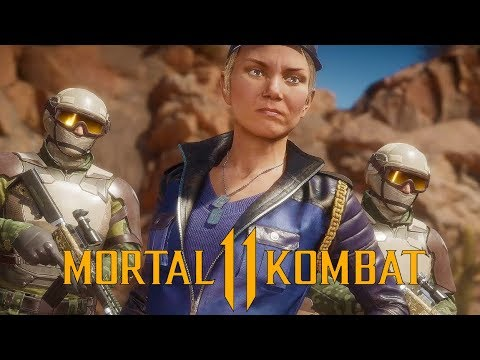 Mortal Kombat  - Sonya Blade Gameplay vs Skarlet and Baraka (Ronda Rousey)