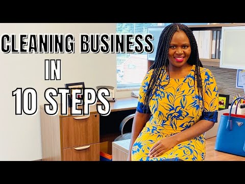 HOW TO START A CLEANING BUSINESS STEP BY STEP GUIDE