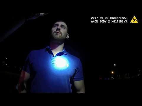 Stephen Parrey Arrest video