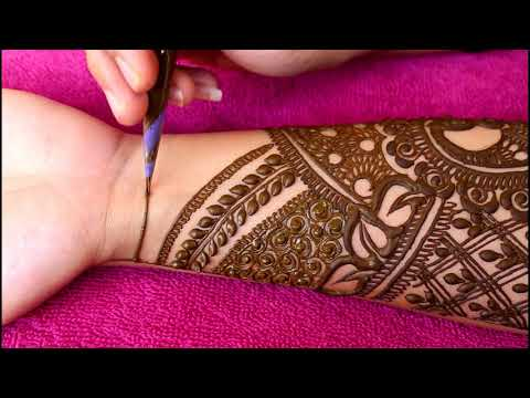 Simple Bridal Mehndi Design For Beginners | 2018 |