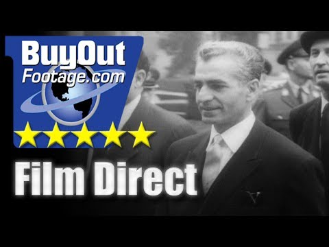 Shah Of Iran On State Visit To America 1962 FILM DIRECT