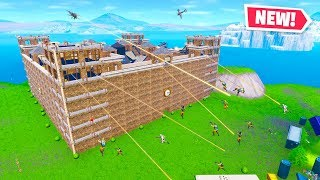 16 PLAYER CASTLE SIEGE in Fortnite Creative Mode