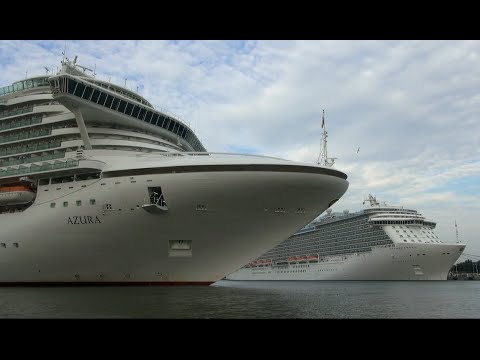 4k Video Experience Final Voyage Costa Concordia Arriving