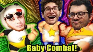 Bizarre Baby Game Plus Pie Punishment