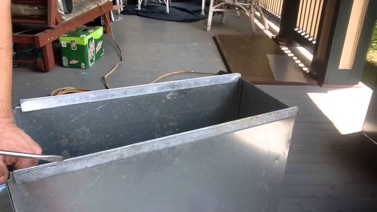 DIY Ductwork making large supply boot