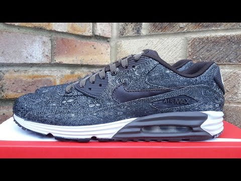 Review: Nike Air Max 90 Lunar Velvet Suit And Tie Pack (2014)