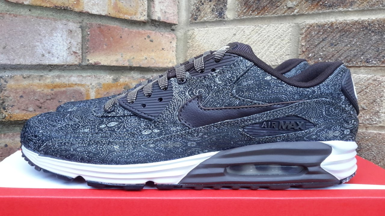 sports shoes 0119b faa21 Review  Nike Air Max 90 Lunar Velvet Suit And Tie Pack (2014)