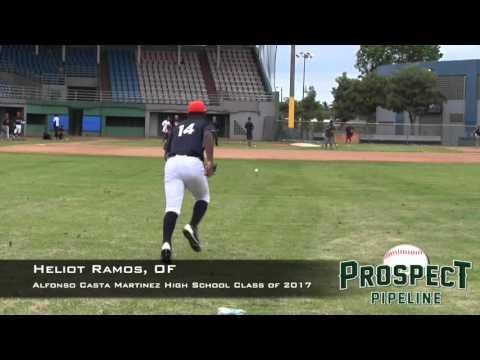 Heliot Ramos Prospect Video, OF, Alfonso Casta Martinez High School Class of 2017x