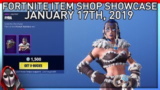 *NEW* Fyra Skin! January 17th New Skins || Daily Fortnite Item Shop