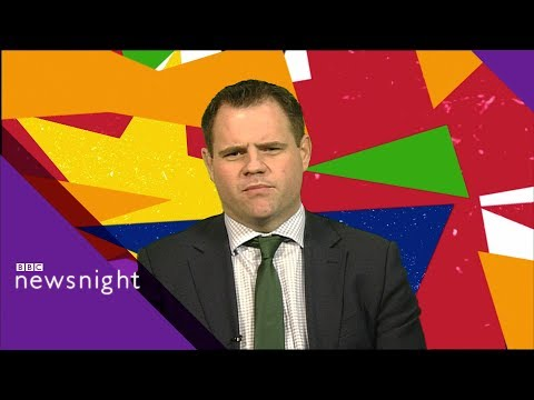 No-deal Brexit 'must be avoided at all costs' - Irish Senator - BBC Newsnight