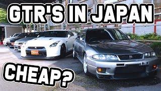 GTR'S FOR SALE IN JAPAN, CHEAP?
