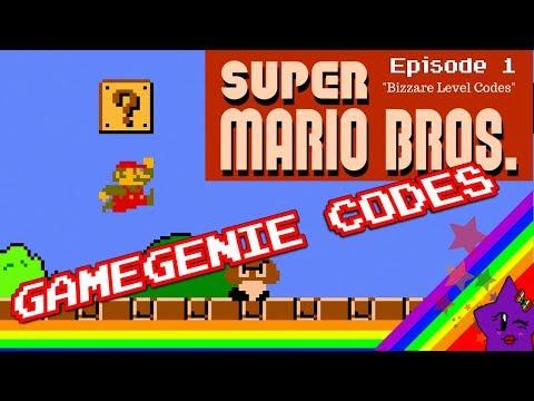 [Thelio] Super Mario Bros. GAMEGENIE CODES - Ep. 1