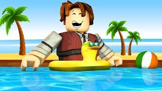 ROBLOX-WATER PARK BUILDING (Theme Park Tycoon)