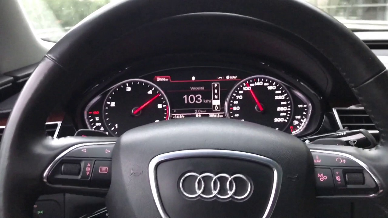 New Audi A Tdi Quattro D Kmh Mph Acceleration Test - Audi a8 0 60