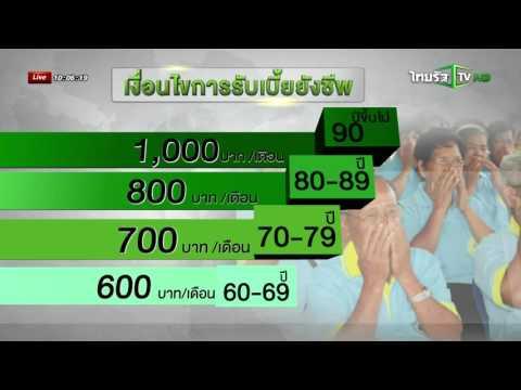 หมดเขตลงทะเบียนเบี้ยยังชีพ 30 พ.ย. นี้ | 21-11-58 | ชัดทันข่าว | ThairathTV