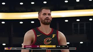 Lakers x Cavaliers - NBA 2K19 simulation LeBron James sign