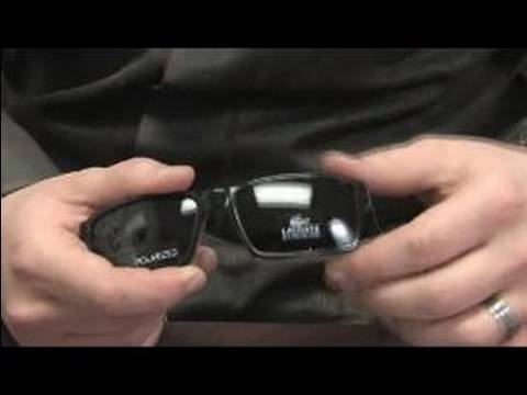 How to Clean and Care for Eyeglasses : Caring for Sunglasses