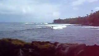 Inside Break - Pohoiki, Puna Hawaii