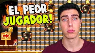 ¡¡EL PEOR JUGADOR DE SUPER MARIO MAKER!!