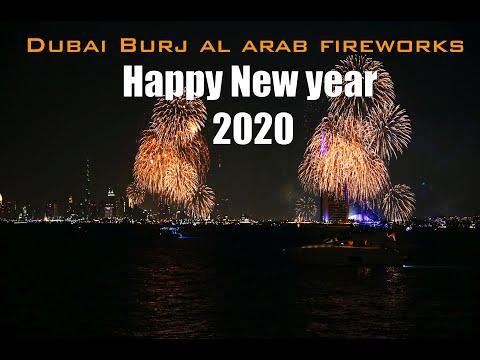 #Dubai welcomed New Year 2020 with spectacular fire works #Burj Al Arab #ദുബായ് ന്യൂ ഇയർ