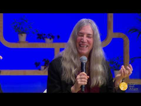 Standing on the Shoulders of Giants. Patti Smith in conversation with Angus Deaton.