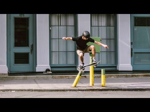 An Evening Downtown - Manhattan Skateboarding