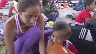 Fifth migrant caravan reaches Oaxaca, Mexico